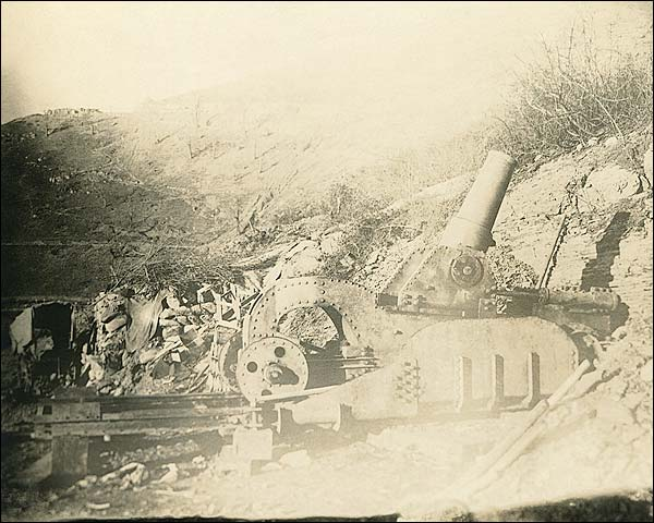 WWI Artillery at Battle of Château-Thierry 1918 Photo Print for Sale