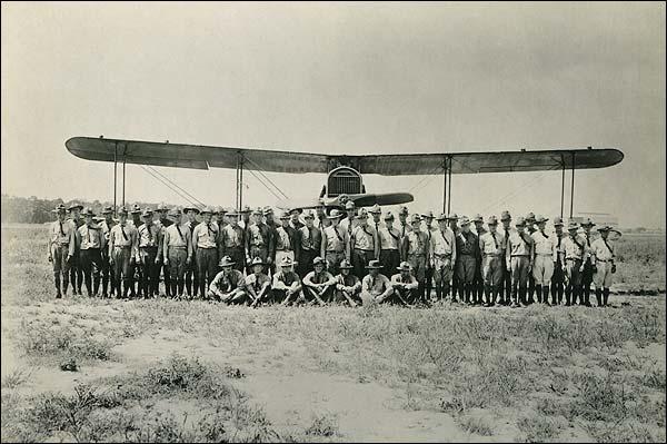 WWI Era U.S. Army Air Service Graduating Class Photo Print for Sale