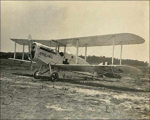WWI Air Ambulance Biplane 1918 Photo Print for Sale