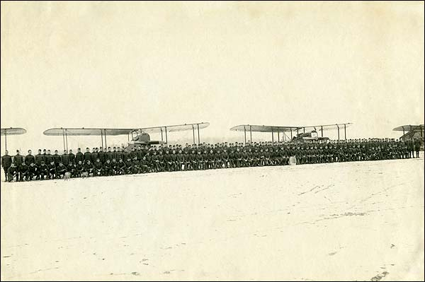 135th 'Statue of Liberty' Observation Aero Squadron 1919 Photo Print for Sale