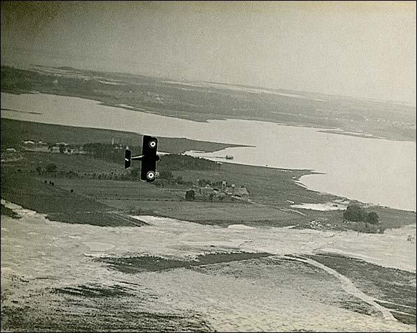 S.E.5 British Biplane Over France WWI Photo Print for Sale