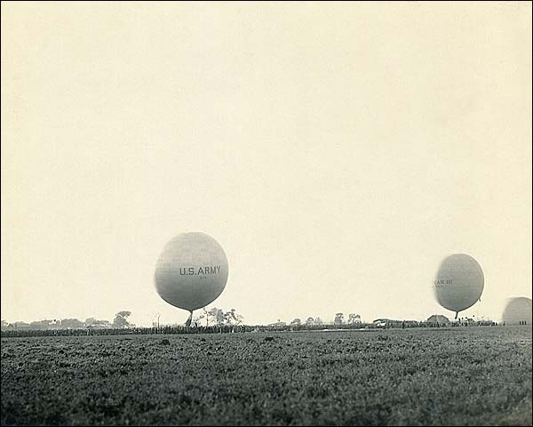 WWI U.S. Army Observation Balloons Photo Print for Sale