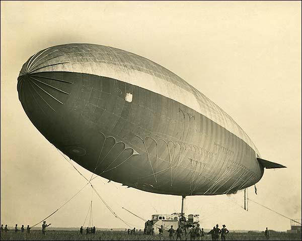 ZD US-1 Zodiac Airship U.S. Army Air Service WWI  Photo Print for Sale