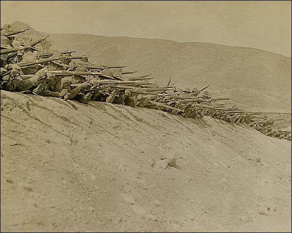 U.S. Infantry at Mexican Border in Border War 1916 Photo Print for Sale