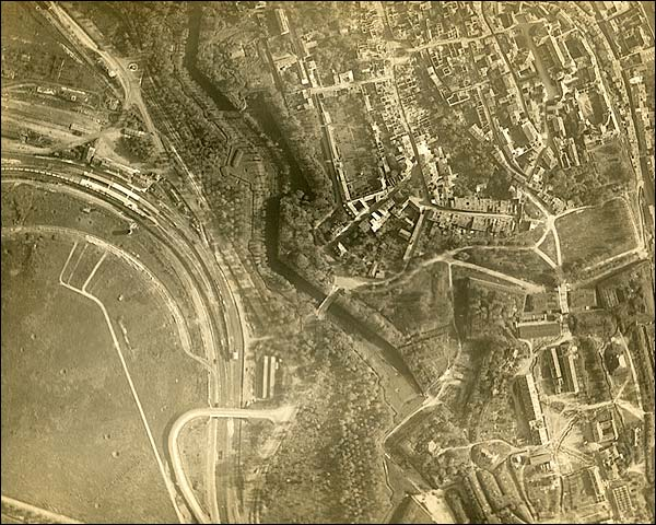Aerial View of Verdun in France WWI Photo Print for Sale