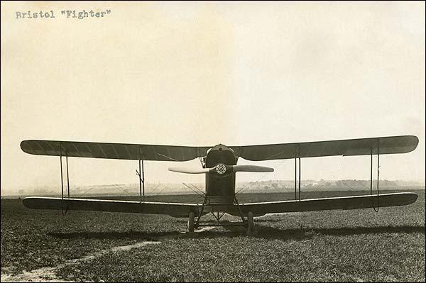 WWI F.2 Bristol Fighter Biplane Photo Print for Sale