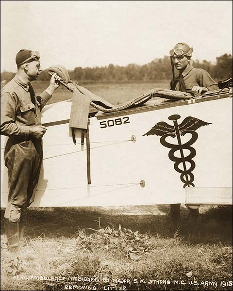 WWI U.S. Army Air Ambulance Pilots 1918 Photo Print for Sale