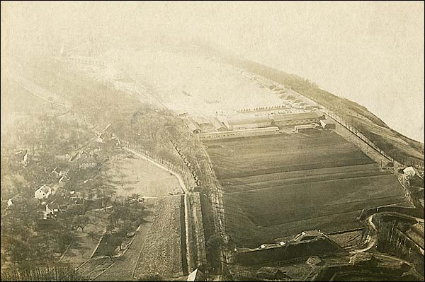 Ehrenbreitstein Fortress in Koblenz, Germany WWI Era Photo Print for Sale