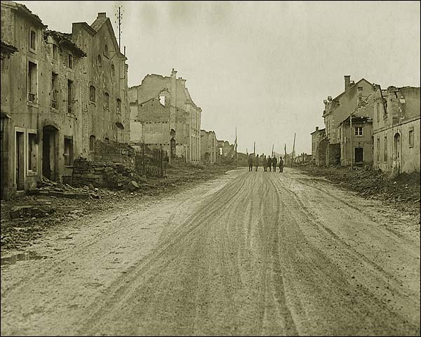 Bombed Village of Étain in France WWI  Photo Print for Sale