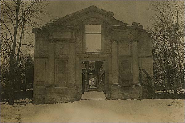 Drawbridge at Fère-en-Tardenois, France WWI Photo Print for Sale