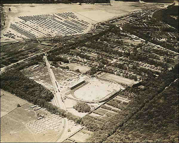 Pershing Stadium in Vincennes, France 1919 Photo Print for Sale