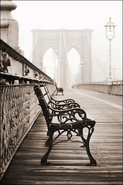 The Brooklyn Bridge 'The Resting Place' Photo Print for Sale