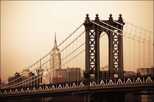 The Manhattan Bridge New York City Photo Print for Sale