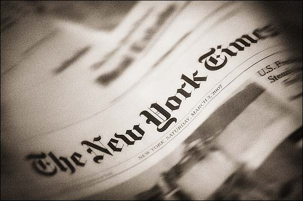 The New York Times Newspaper Photo Print for Sale