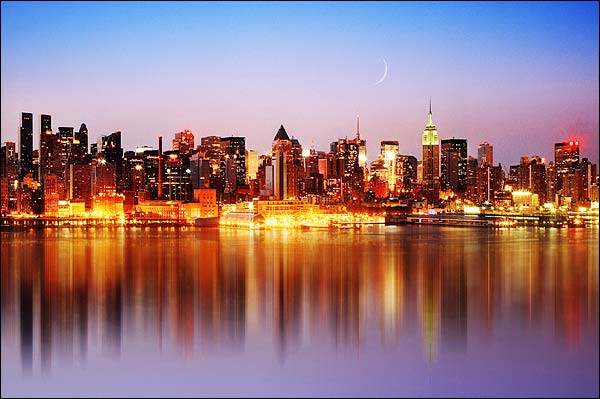 Midtown Manhattan Skyline New York City Photo Print for Sale