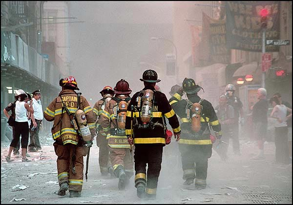 9/11 Firefighter Photo