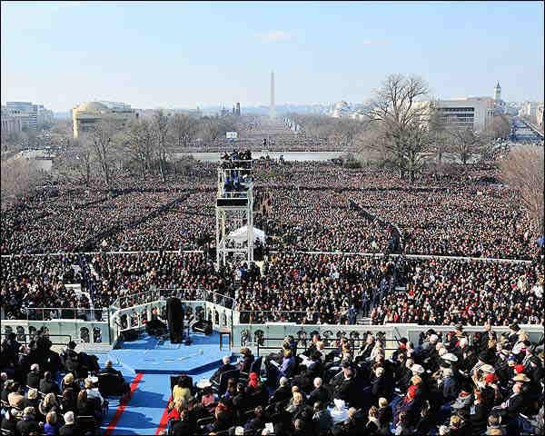 President Barack Obama Inaugural Address Photo Print for Sale