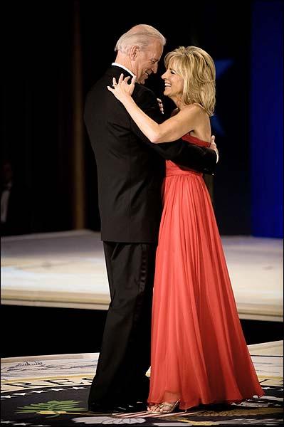 VP Joe Biden and Jill Biden Dance at Inaugural Ball Photo Print for Sale