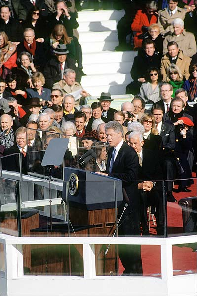 President Bill Clinton 1997 Inaugural Speech Photo Print for Sale