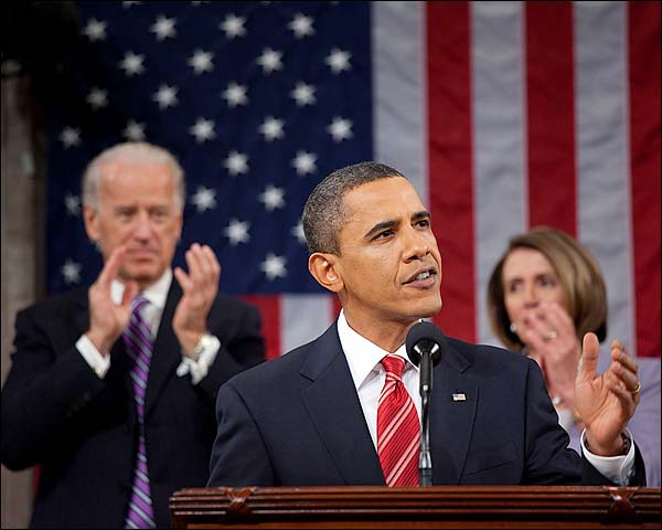 President Obama State of the Union 2010 Photo Print for Sale