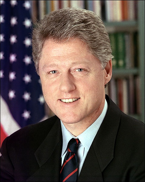 President William 'Bill' Clinton Portrait Photo Print for Sale