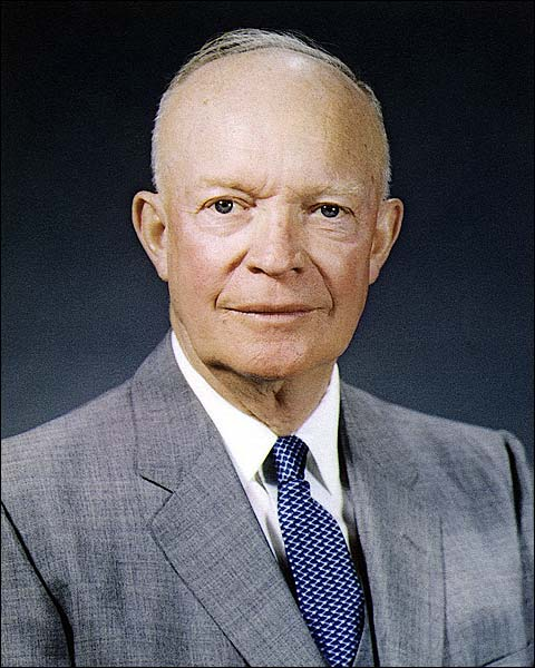 Portrait of President Dwight D Eisenhower Photo Print for Sale