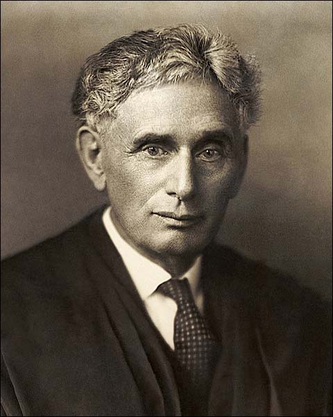Portrait of Supreme Court Justice Louis Brandeis Photo Print for Sale