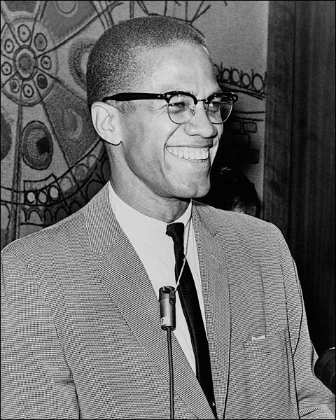 Malcolm X Portrait 1964 Photo Print for Sale