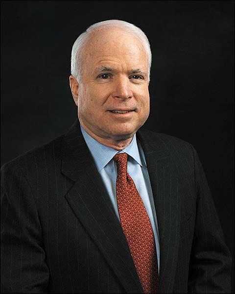 Senator John McCain Official U.S. Congress Portrait Photo Print for Sale