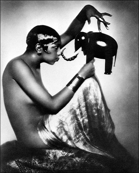 Josephine Baker Portrait 1925 Photo Print for Sale