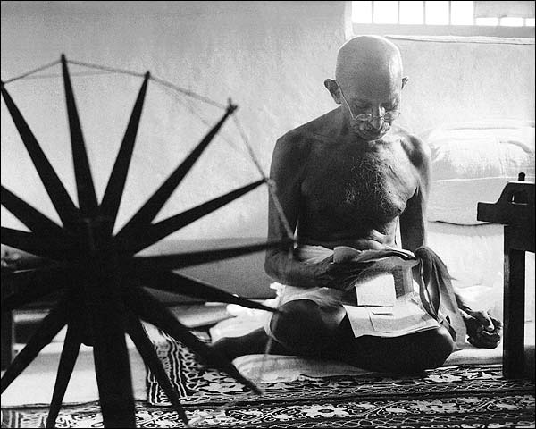 Mohandas Karamchand 'Mahatma' Gandhi Photo Print for Sale
