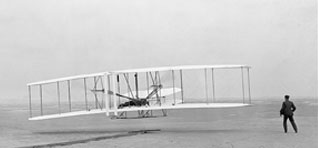 Wright Brothers Kitty Hawk 1st Flight 1903